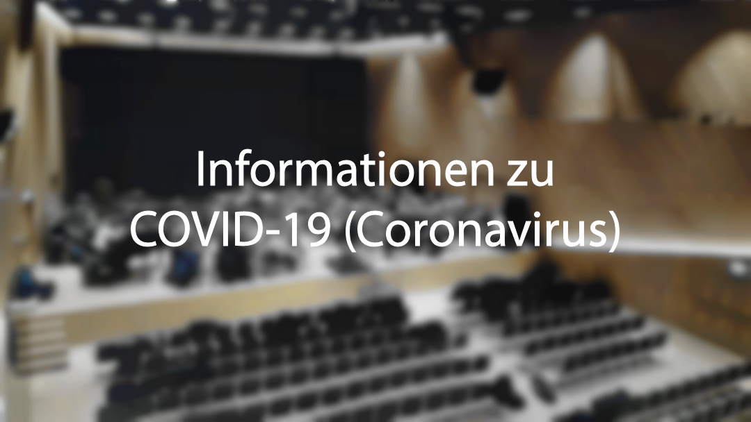 Informationen zu COVID-19 (Coronavirus)